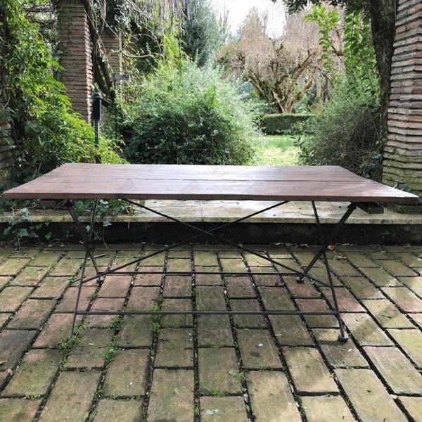 tavolo rettangolare vintage