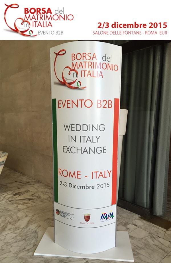 Borsa del matrimonio in italia 2 3 dicembre 2015 roma for Poltrone e sofa sanremo