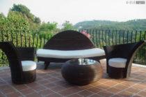 Ambientazione per Eventi: Sedute in Legno