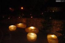 Ciottoli Luminosi da esterno