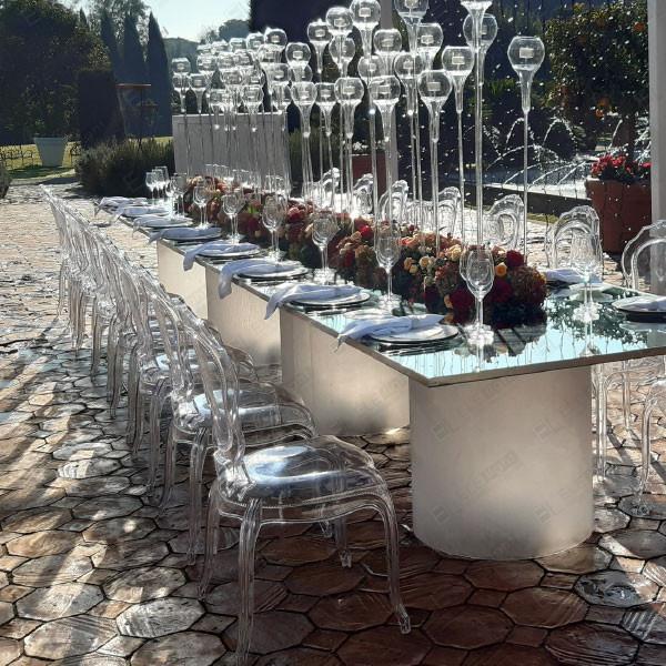 Tavolo specchiato rettangolare Daylight