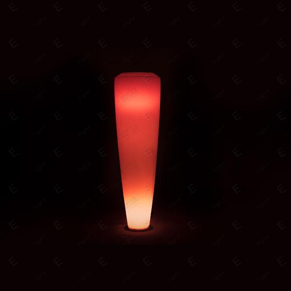 NOLEGGIO LAMPADA DA TERRA CON LED RGB IN POLIETILENE INTERLAGOS
