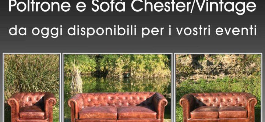 Poltrone e Sofa Chester Vintage