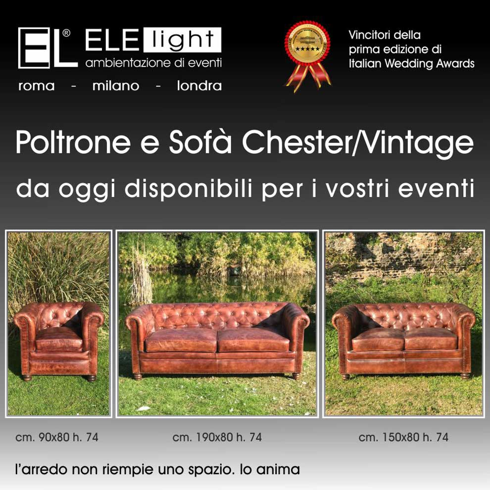 Poltrone E Sofa Roma Pomezia.Poltrone E Sofa Chester Vintage Ele Light