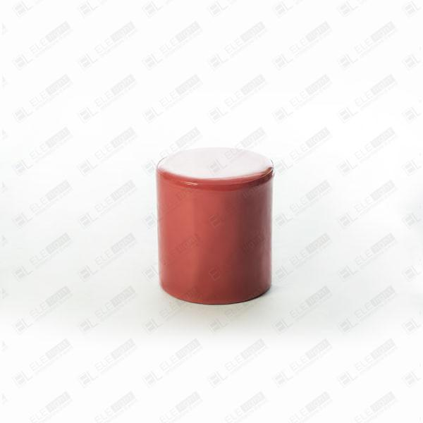 POUF TUBE rosso