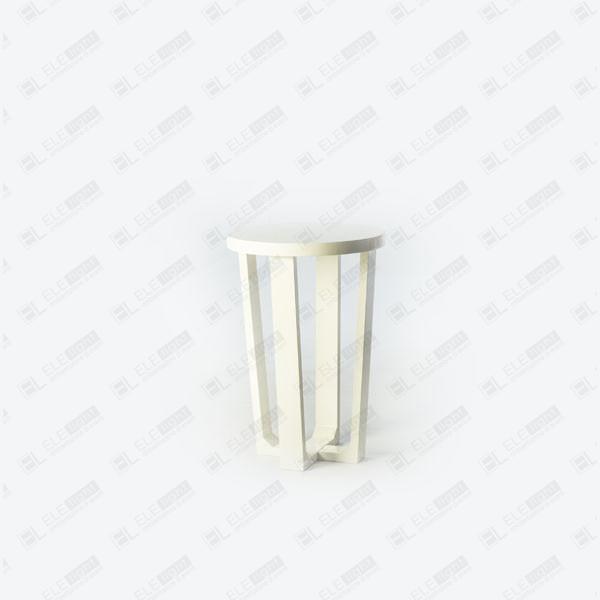 Venere: Tavolo tondo in MDF Laccato Lucido | ELE light
