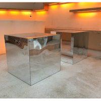 Base cubo mirror 80x80