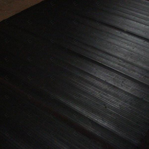 tappeto bambu nero