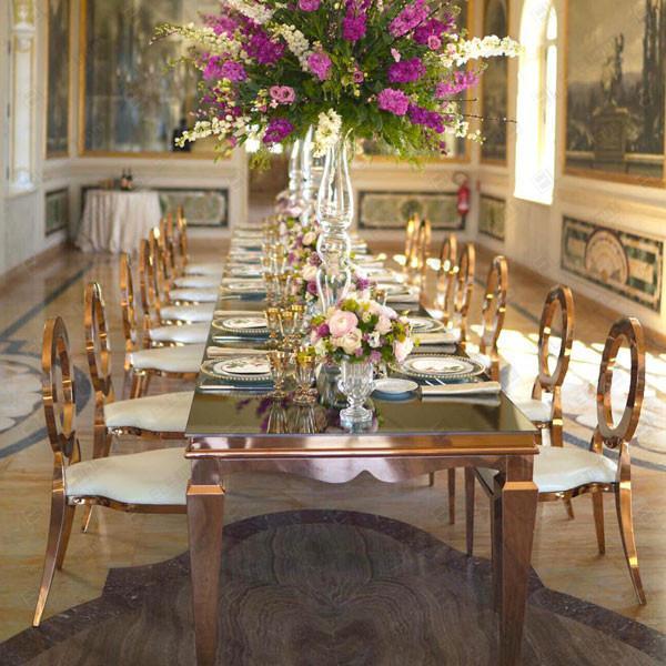 Tavolo Venice con sedie princess
