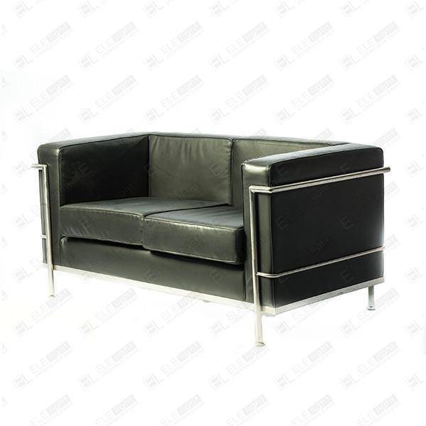 LE CORBUSIER nero divano