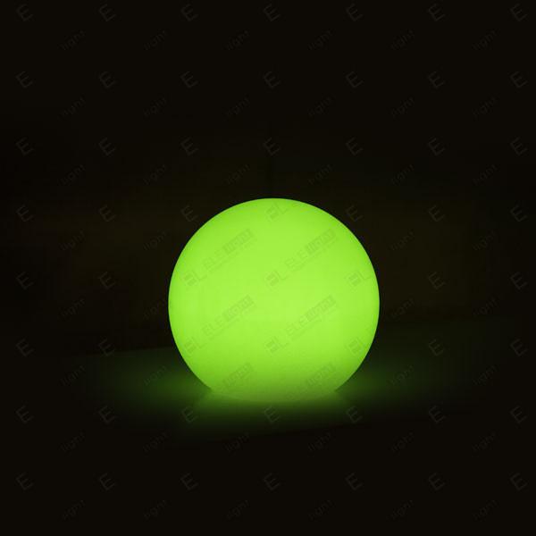 NOLEGGIO LAMPADA A SFERA LUMINOSA CON LED RGB IN POLIETILENE 50CM