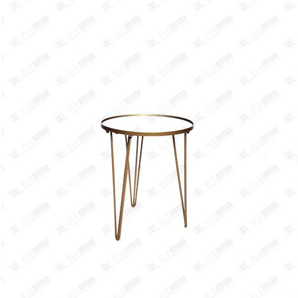 tavolino in vetro e acciaio
