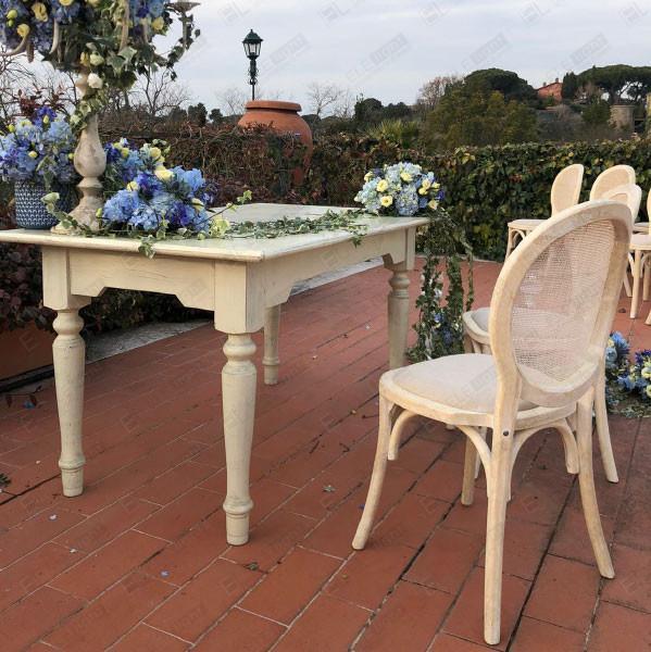 Tavolo Baku mini e sedia Monet